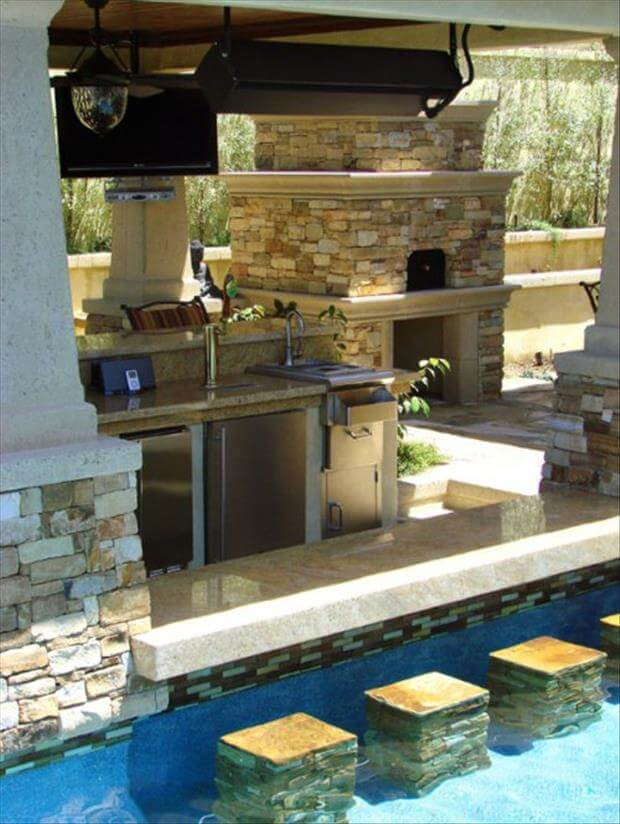 The best outdoor kitchen design
