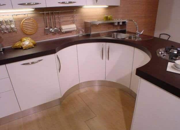 Simple kitchen cabinets unique design