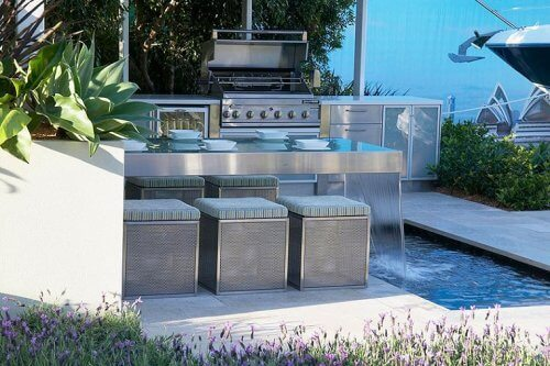Unique kitchen designs for outdoor kitchen