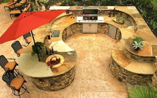 best decoration ideas for outdoor kitchens