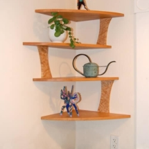 corner kitchen shelf ideas