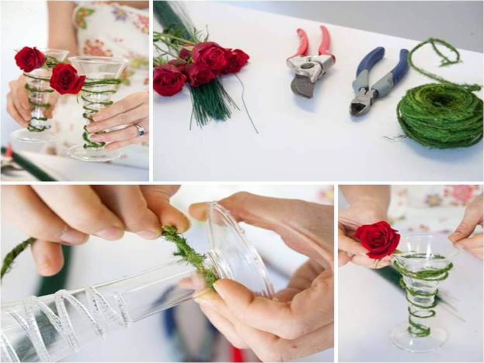 diy wedding decoration flower tutorial