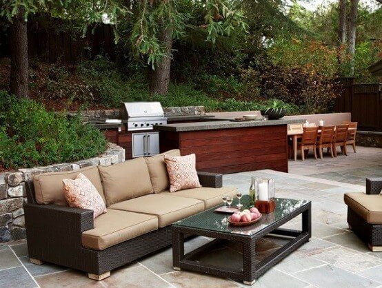 furniture sets for outdoor kitchens