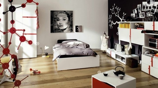 bedroom interiors designs