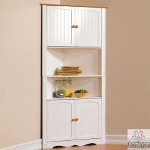 kitchen corner shelf with storage unit