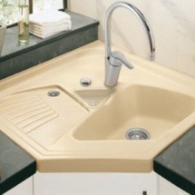 kitchen corner sinks