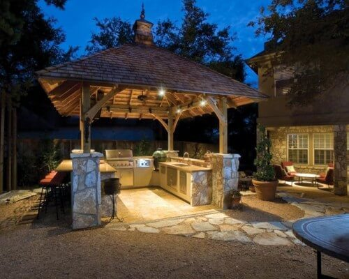 modern ideas for outdoor kitchens