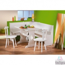 modern kitchen corner table design