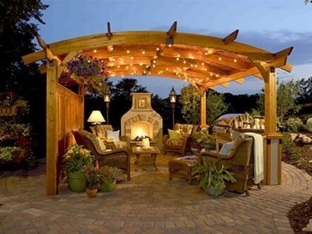 outdoor kitchen decoration ideas