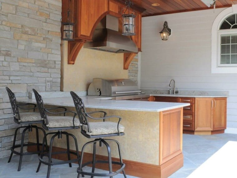 outdoor kitchen design and decoration ideas on a budget