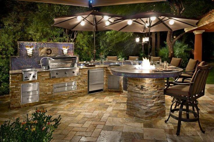 stylish kitchen ideas for garden kitchens