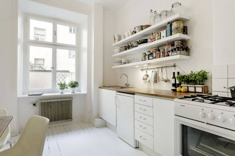 15 top simple kitchen cabinets design decorationy - White kitchen cabinet ideas ...