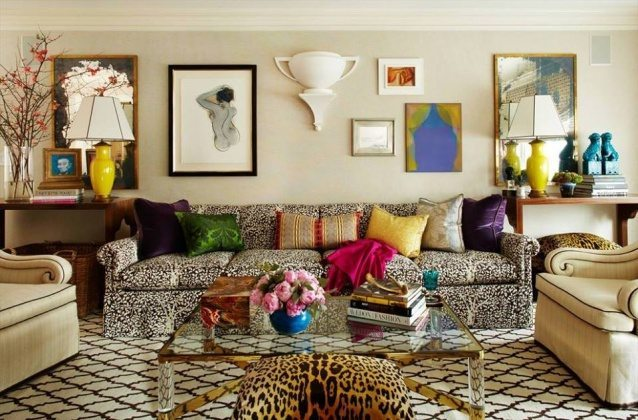 Living room color trends 2017