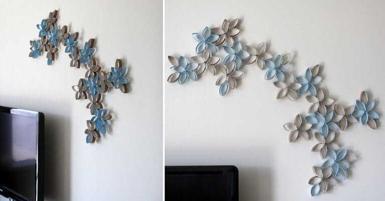 DIY living room wall decor