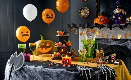 halloween table decorations