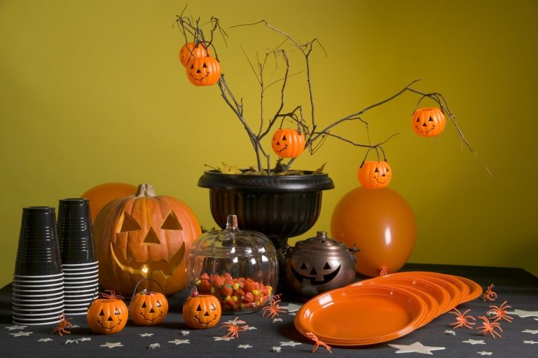 18 scary halloween table decorations decoration y - Decoration de table halloween ...