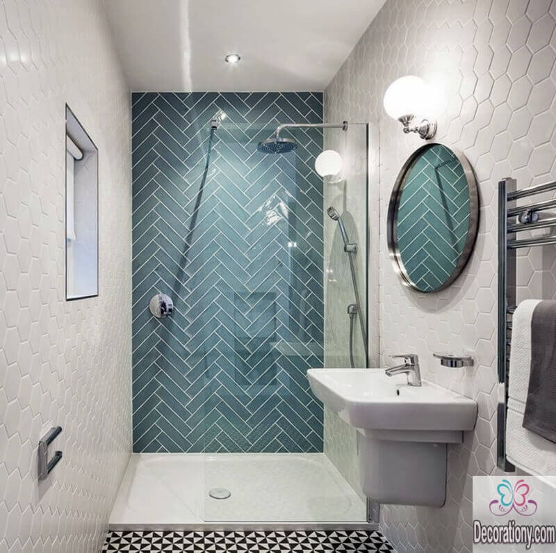 10 affordable colors for small bathrooms decoration y for Trendy bathroom colours 2016