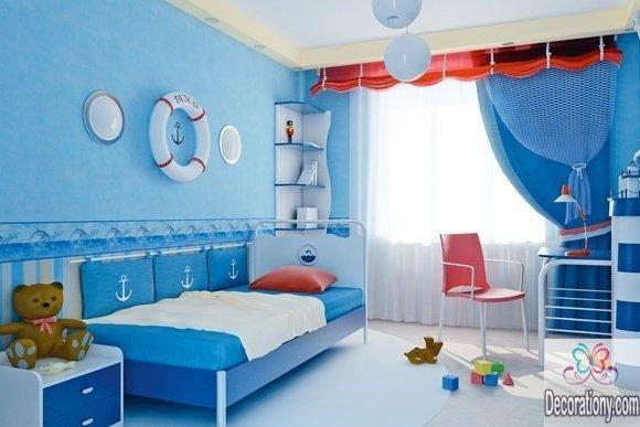 Beachy bedroom wall decor ideas