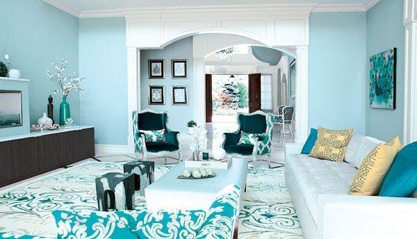 Modern living room color schemes trends 2017