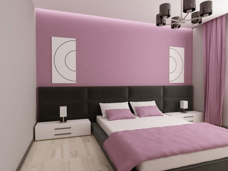 Wall decor ideas for bedroom behind bed wall