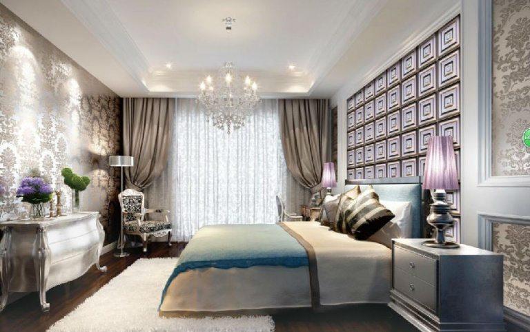 Decorating bedroom walls