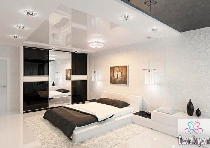 black-and-white-modern-bedroom