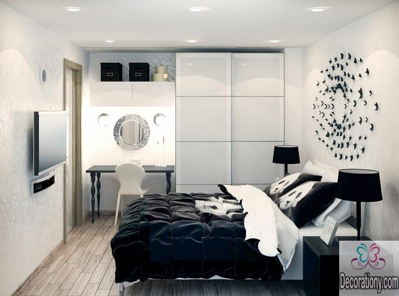 . 35 Affordable Black and White Bedroom Ideas   Decor Or Design