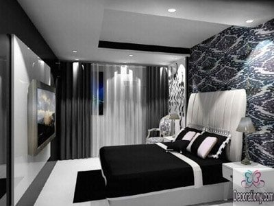 Black n White bedroom