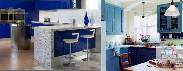 Best Blue kitchen color ideas