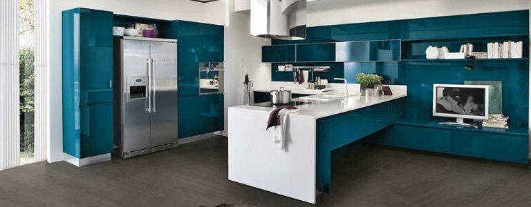 Open kitchen color ideas