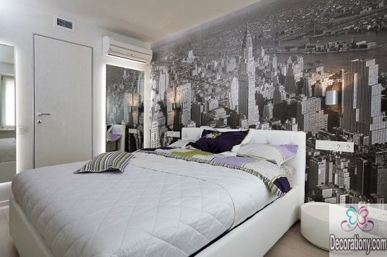 City Bedroom Wall Decoration Ideas