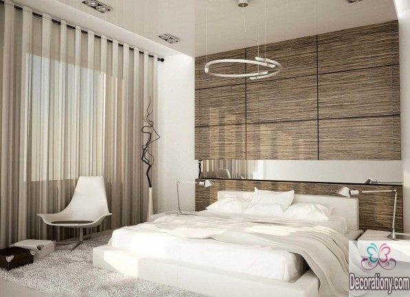 Bedroom designs in black and white
