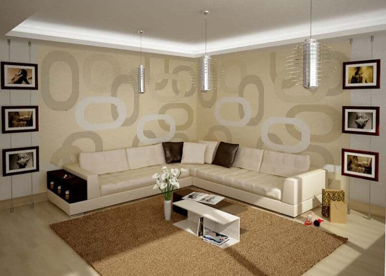 Contemporary wall decor ideas for living rooms