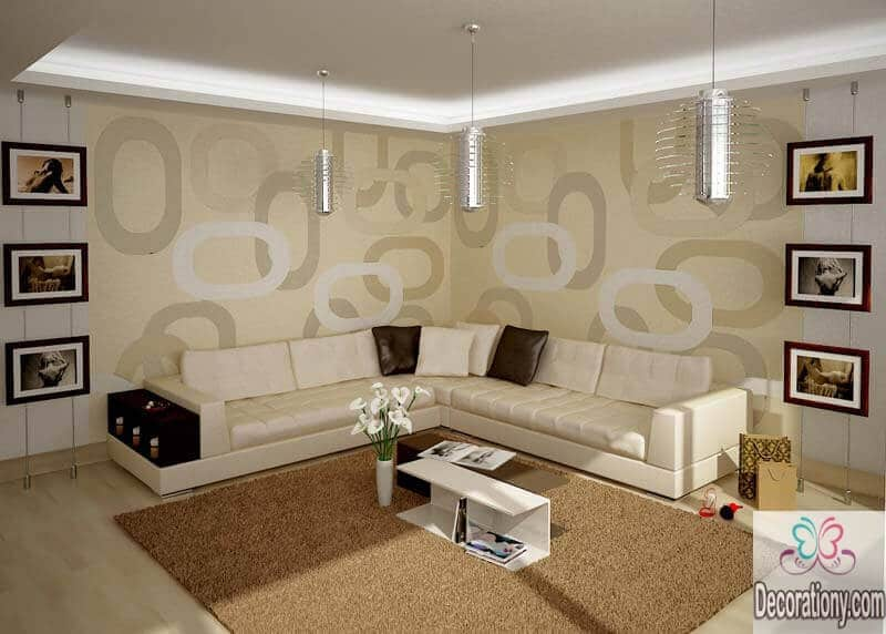 45 living room wall decor ideas living room for Contemporary living room art
