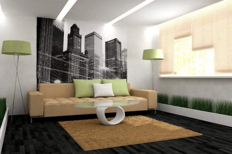 Modern wall decor ideas for living rooms