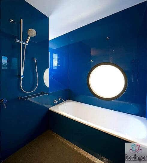 small bathroom blue color ideas