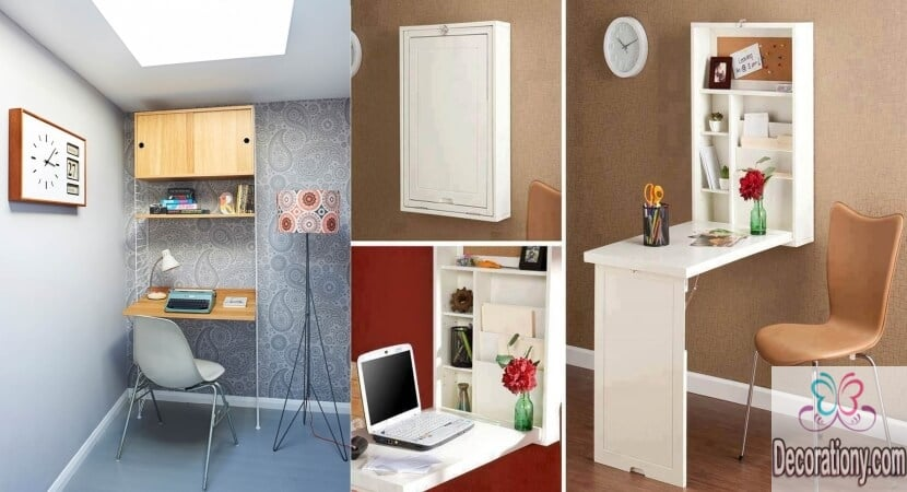 16 modern desks for small spaces interior design - Desk options for small spaces decoration ...