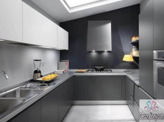 grey kitchen color schemes