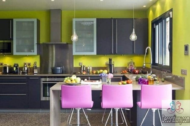 colorful kitchens 2017