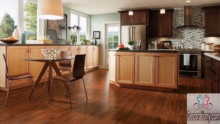 kitchen wall colors with dark cabinets