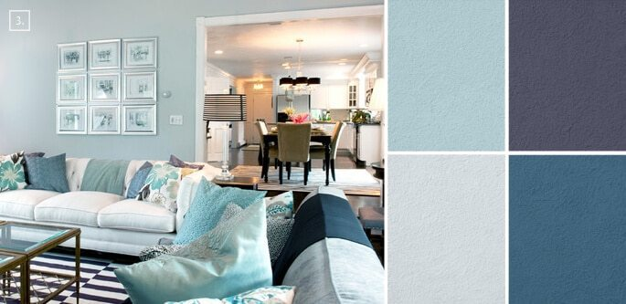 living room color scheme combination