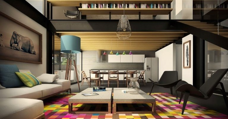 Modern living room colors 2017