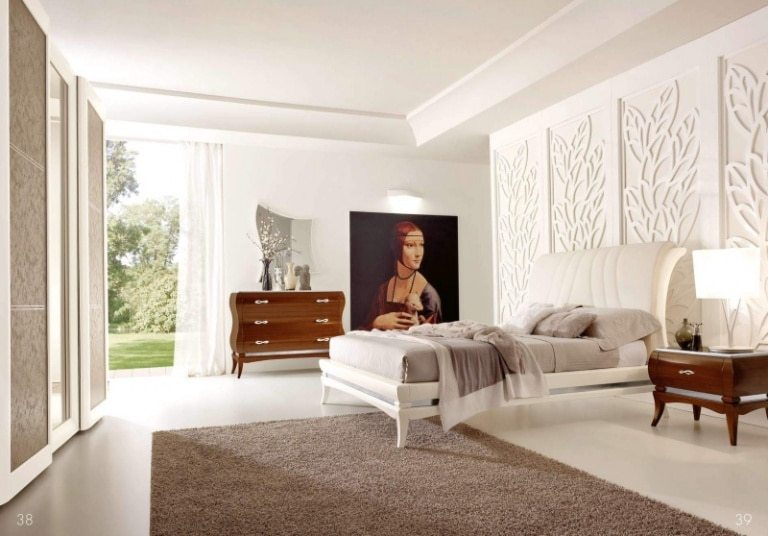 Gypsum wall decor ideas for bedrooms