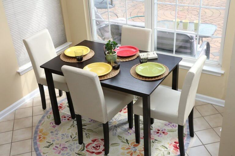 Stylish dining room tables