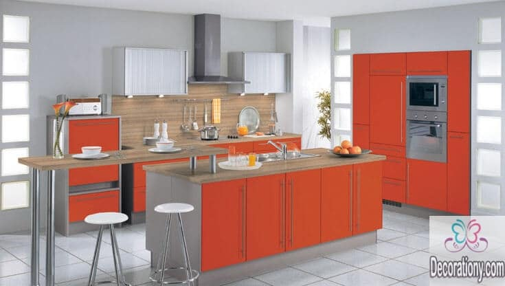 Modern colors for kitchens