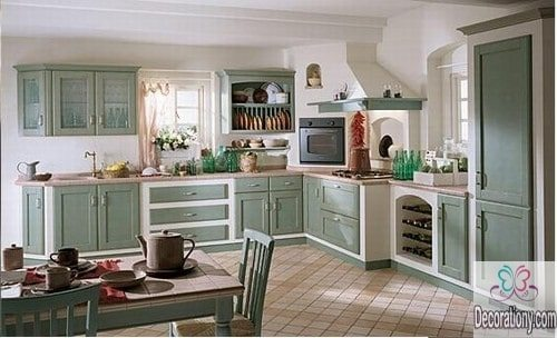 farmhouse kitchen color ideas
