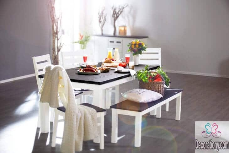 simple-dining-room-table-design-with-a-bench