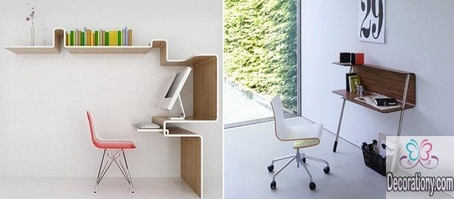 16 modern desks for small spaces interior design - Desk for a small space collection ...