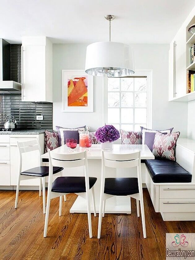 small-dining-room-design-in-white-color