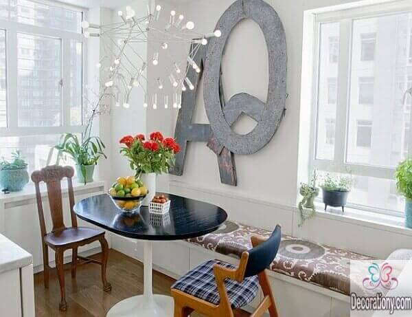 Tiny dining table design for small dining room ideas